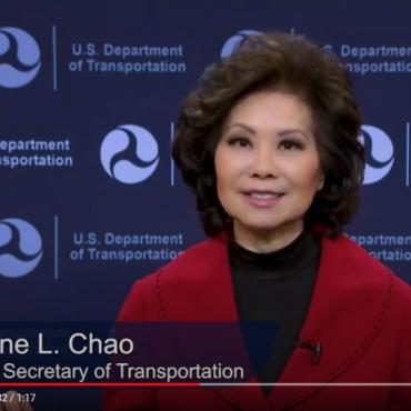 U.S. Secretary of Transportation Elaine Chao Thanks U.S. Maritime Industry